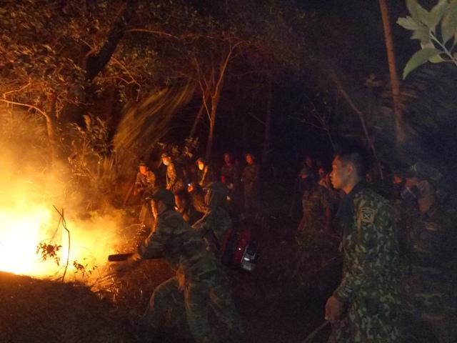 Hỏa hoạn qua đi, tình quân dân đọng lại